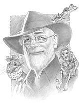 Portrait of Terry Pratchett