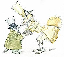 """""""My dear sir,"""" said Scrooge"""